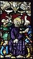 Brasparts (29) Église Notre-Dame et Saint-Tugen Vitrail de la Passion 07.jpg