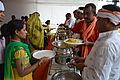 Breakfast Distribution - Rawatpura Sarkar Ashram - Chitrakoot - Satna 2014-07-05 6343.JPG