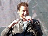 Brendan Fraser, promoting the film's second sequel in 2008