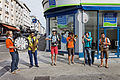 Brest - Fête de la musique 2014 - La Téléfanfare - 002.jpg