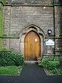 Bridge House (St Luke's Church), Doorway - geograph.org.uk - 671611.jpg