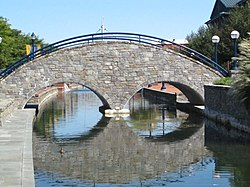 Bridge on Carroll Creek