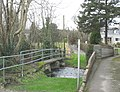 Bridges over Afon Rhyd-hir in the village of Llannor - geograph.org.uk - 678603.jpg