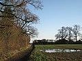 Bridleway to 'Lansdowne Farm' - geograph.org.uk - 2227808.jpg
