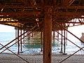 Brighton Pier - under the board walk - geograph.org.uk - 817271.jpg