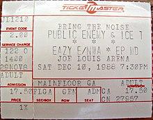 Public Enemy Tour Dates