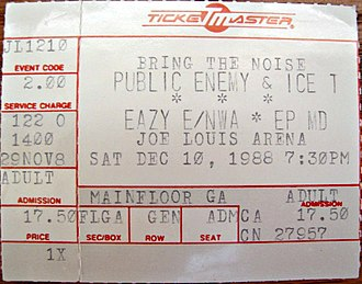 "N.W.A - N.W.A co-headlined Public Enemy's 1988 ""Bring the Noise"" concert tour."