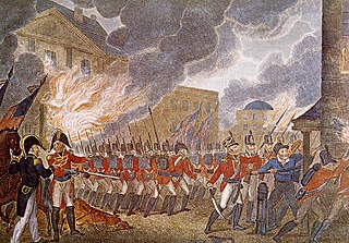 Burning of Washington event in the War of 1812
