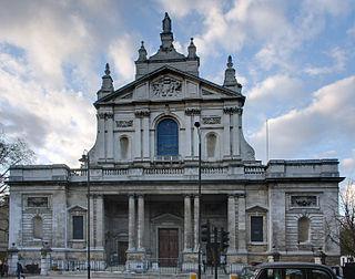 Brompton Oratory Church in London