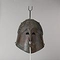 Bronze helmet of Apulian-Corinthian type MET DP105639.jpg
