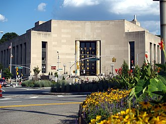 The Central Library at Grand Army Plaza. Brooklyn Public Library by DS.JPG