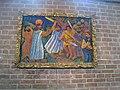 Bror Hjorth, Getsemane, polykrom trärelief, 1940 , Mariakyrkan, Sigtuna. Ägare Stockholms stad.jpg