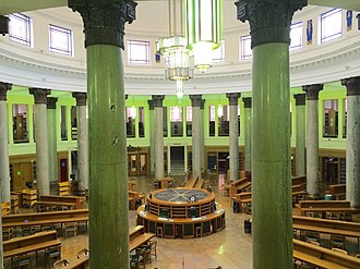 Brotherton Library - Image: Brotherton Library reading room, University of Leeds, 27th June 2014