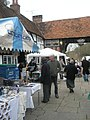Browsing in the market at Godalming - geograph.org.uk - 1604694.jpg