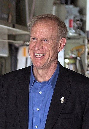 Governor of Illinois - Image: Bruce Rauner 2016 cropped
