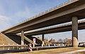 Brug in autosnelweg (A7) over de Noorder Oudeweg tussen Joure en Sneek.jpg