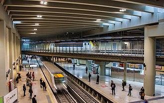 Schuman railway station - Image: Bruxelles Schuman