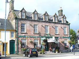 Helen Hyslop - The Buccleuch Hotel in Thornhill.