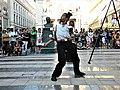 Bucuresti, Romania. Teatrul ODEON. (B-II-m-B-19854) B-FIT IN THE STREET 2018. Spectacol de jonglerie si echilibristica. Artistul Juriy Longhi. (4).jpg