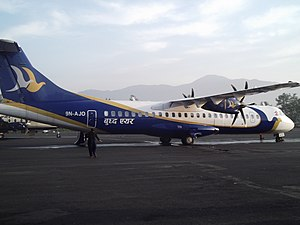 Buddha Air - Buddha Air ATR 72-500 in 2012.