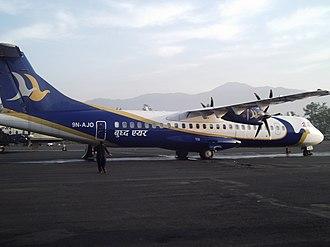 Buddha Air - Buddha Air ATR 72-500 in 2012.