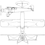Buhl CA-6 Airsedan 3-view Aero Digest March 1929.png