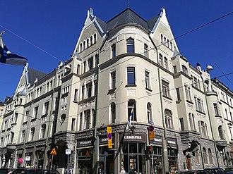 Lars Sonck - Image: Building at crossing of Uudenmaankatu and Frederikinkatu in Helsinki