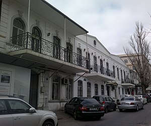 Mstislav Rostropovich - House in Baku, where Rostropovich was born