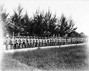 Landsturm - White Landsturm in German East Africa, World War I