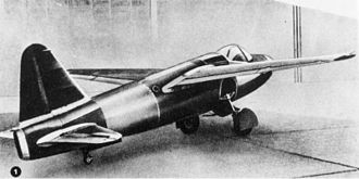 Heinkel He 178 - The He 178 drawing board design