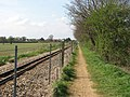 Bure Valley Railway - approach to Aylsham bypass tunnel - geograph.org.uk - 1244694.jpg