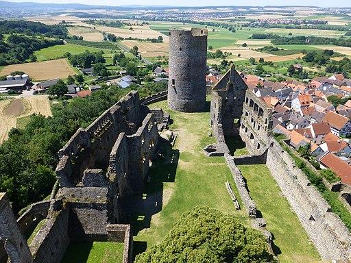 Burg Münzenberg-06-Aussicht-1