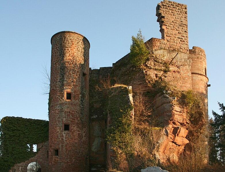 Burg Neudahn bei Dahn
