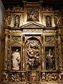 Burgos - Museo de Burgos, retablo de la Asuncion, 1581, de Pedro Lopez de Gamiz, procedente de Vileña.jpg