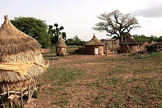 Plateau-Central Region - A village in the region