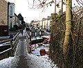 Burnside footbridge on Boxing Day - geograph.org.uk - 2209413.jpg