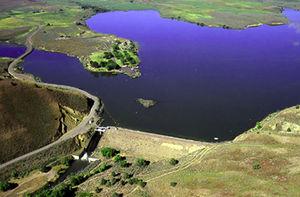 Burnt River (Oregon) - Image: Burnt River dam