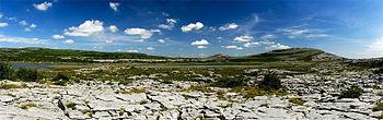 Veduta verso il Mullagh Mor