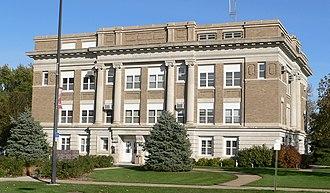 Burt County, Nebraska - Image: Burt County Courthouse from SW 3