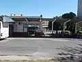 Bus station building west side, 2019 Tapolca.jpg