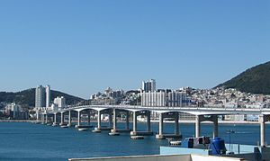 Seo District, Busan - Seo District and Namhang Bridge
