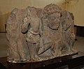 Bust of Rahu in Tarpan Mudra - Circa 8-9th Century CE - Mathura - ACCN 39-2836 - Government Museum - Mathura 2013-02-23 5233.JPG
