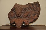 Bust of Vishnu in Cosmic Form - Circa 5th Century CE - Aligarh - ACCN 42-43-2989 - Government Museum - Mathura 2013-02-23 5330.JPG