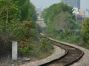 Butetown branch line - Image: Bute Town Branch Line 02