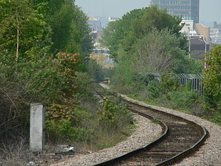 Butetown branch line