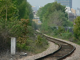 Butetown branch line - Image: Bute Town Branch Line 02