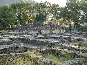 Butkara Stupa - Ruins of Butkara I.
