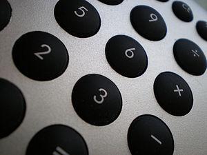 Buttons, calculator
