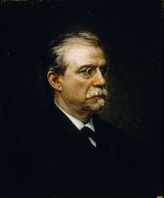 Antonio Cánovas del Castillo - Portrait by Ricardo de Madrazo (1896)