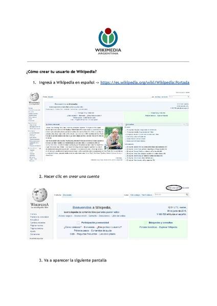 File:Cómo crear tu usuario de Wikipedia.pdf